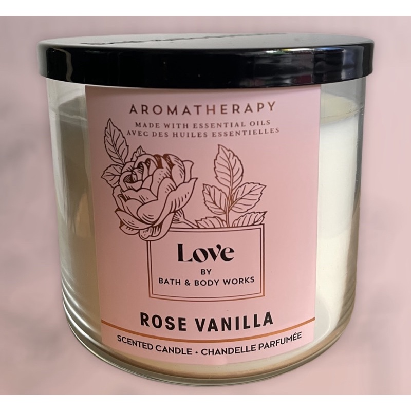 Candle 3-Wick Aromatherapy bath and body work
