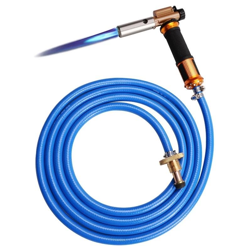✅พร้อมส่ง🔥LPG Gas Torch Welding Gun หัวพ่นไฟ เชื่อมบัดกรี พ่นแก๊ส【Electronic ignition】