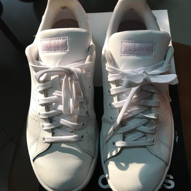 Adidas neo advantage cloudfoam (มือสองใส่ครั้งเดียว) รองเท้าผ้าใบ