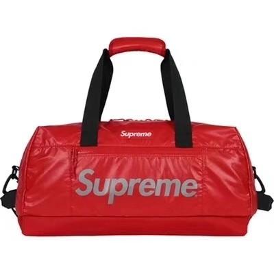 17FW Supreme 43th Duffle Bag 3M กระเป๋าสะพายกระเป๋าสะพายกระเป๋าเดินทาง