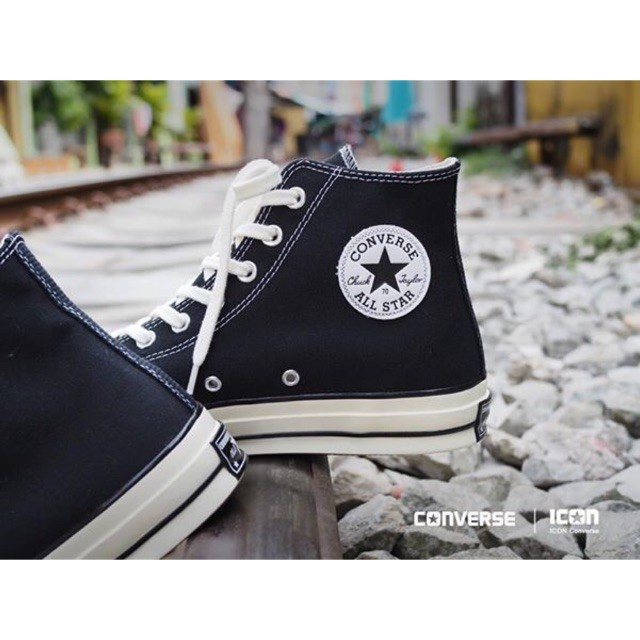 Converse Chuck Taylor All Star 70 Black - HI-Cut
