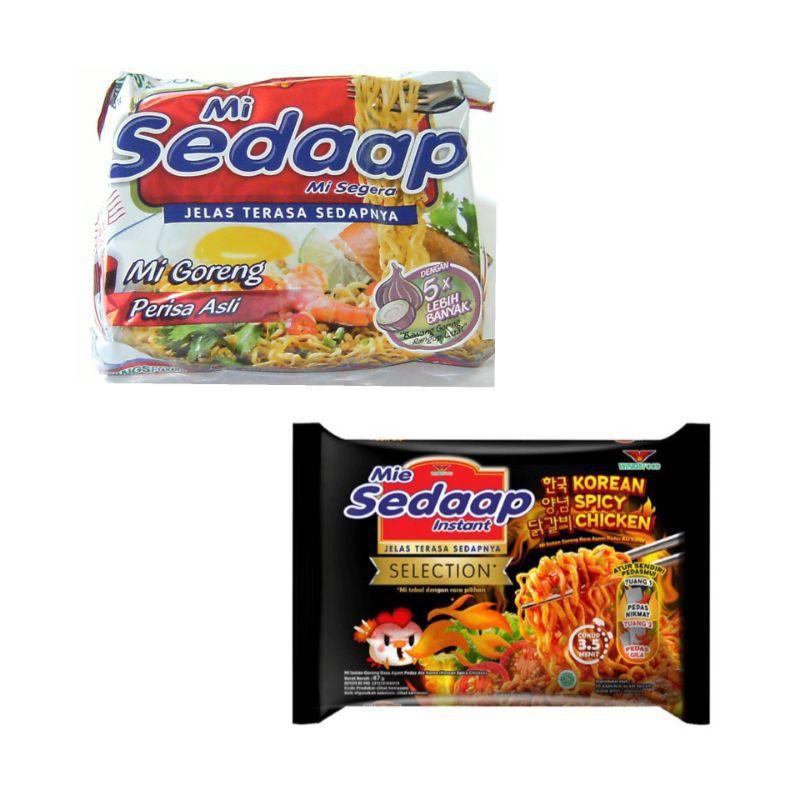 [ซอง] Sedaap บะหมี่เผ็ดสไตล์เกาหลี บะหมี่กึ่งสำเร็จรูป มีฮาลาล Mi SEDAAP KOREAN SPICY