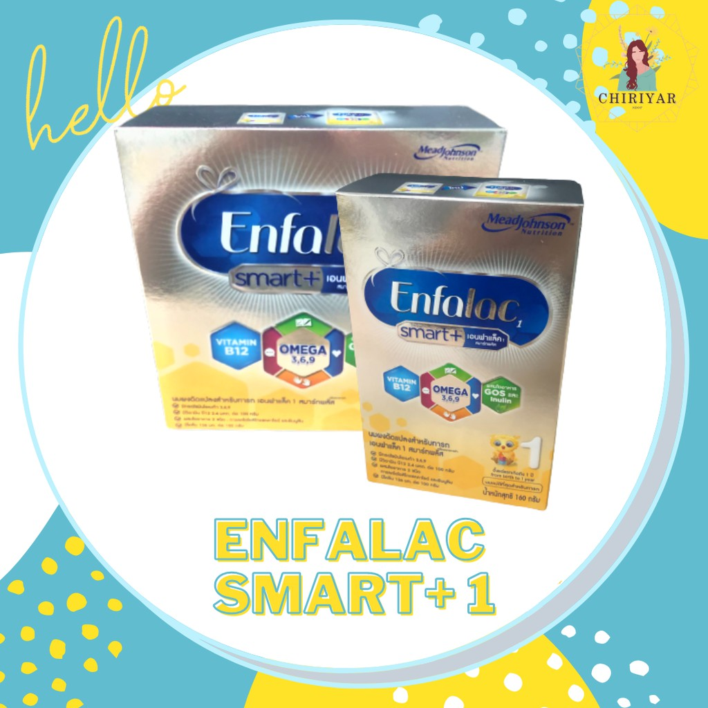 พร้อมส่ง ❗❗❗ ราคาพิเศษ   🍼 Enfalac Smart+ (1) เอนฟาแลค สมาร์ทพลัส สูตร 1