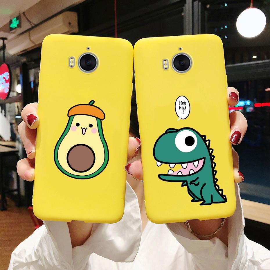 Huawei Y5 2017 Y6 2017 Mya-l22 Mya-u29 Casing Y3 2017 2018 CRO-L02 Cute Sunflower Patterned Soft Phone Case