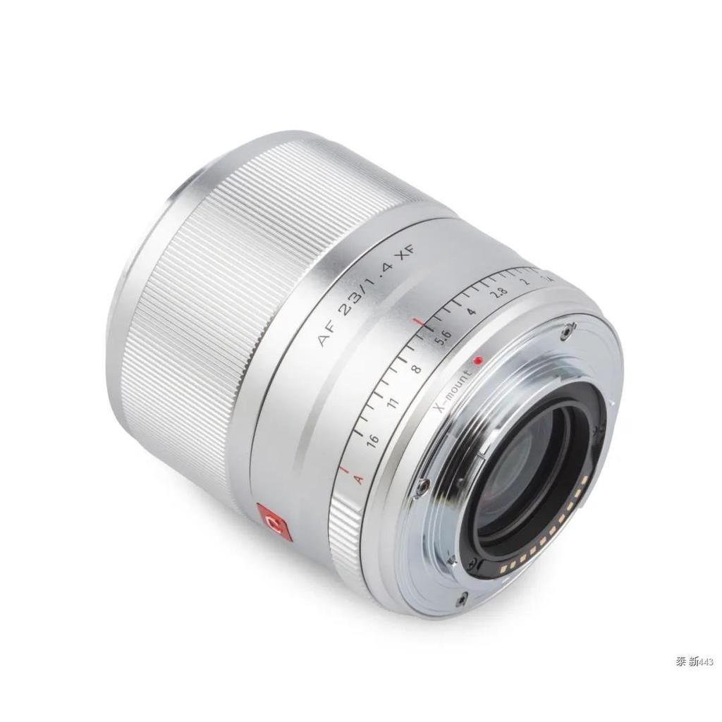 Viltrox 56mm F1.4 silver black Lens XF APS-C Large Aperture Autofocus Portrait for Fujifilm X X-T30/X-T3/X-PRO3/X-T200 X