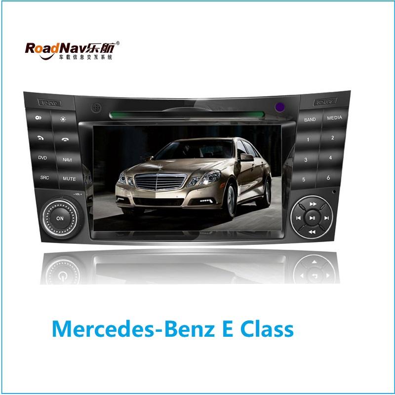 【Roadnav】Mercedes Benz E คลาส W211 2002-2008 เครื่องเสียงรถยนต์ dvd ติดรถยนต์ car dvd android 9.0 gps carplay android auto HD หน้าจอ