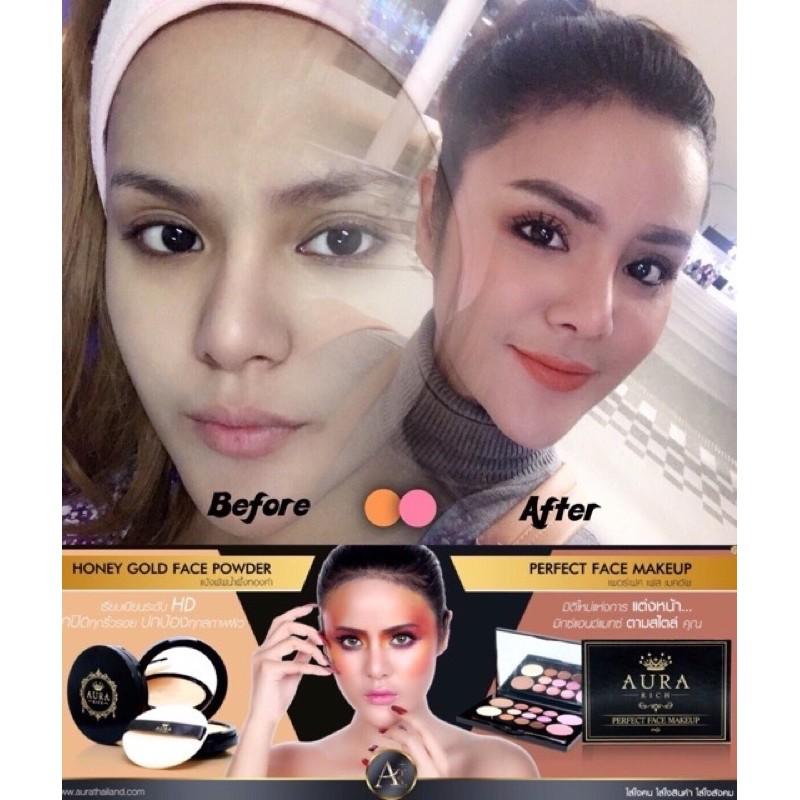 แท Perfect Face Makeup By Aura Rich