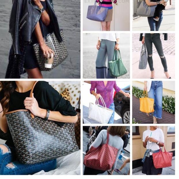 กระเป๋า Tote กระเป๋า Goyard + Goyard + กันน้ํา - สีส้มสําหรับสตรี OUDIA