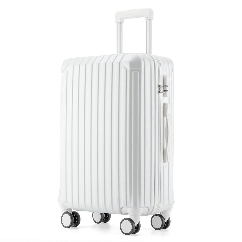 กระเป๋าเดินทางล้อลากแบบใส่รหัสผ่านขนาด 24 นิ้ว 26 นิ้วสําหรับผู้ชาย