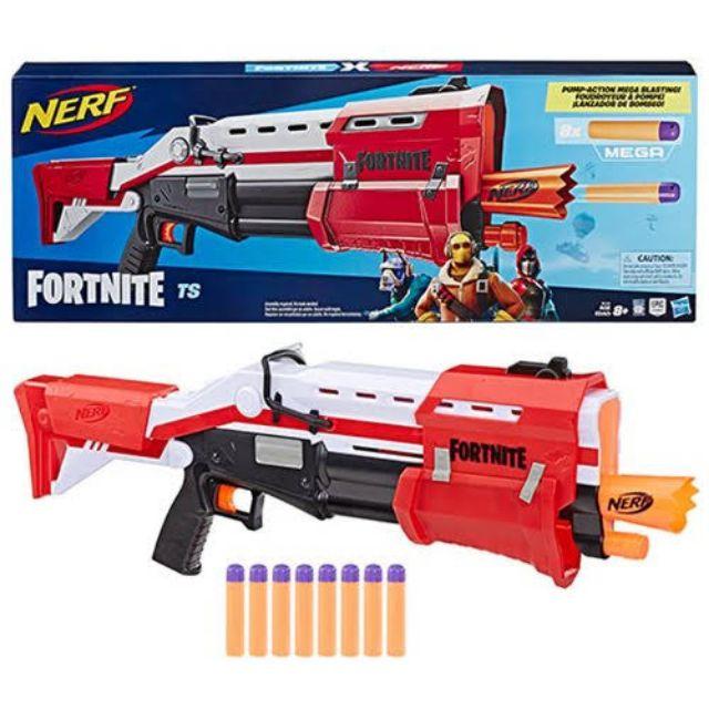Nerf Fortnite TS-1 Blaster Gun Mega bullets ปืนเนิร์ฟฟอร์ตไนต์ กระสุนเมก้า