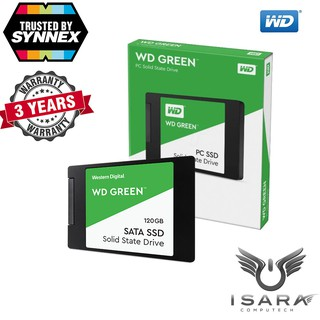 Review WD SSD GREEN 120GB, 2.5