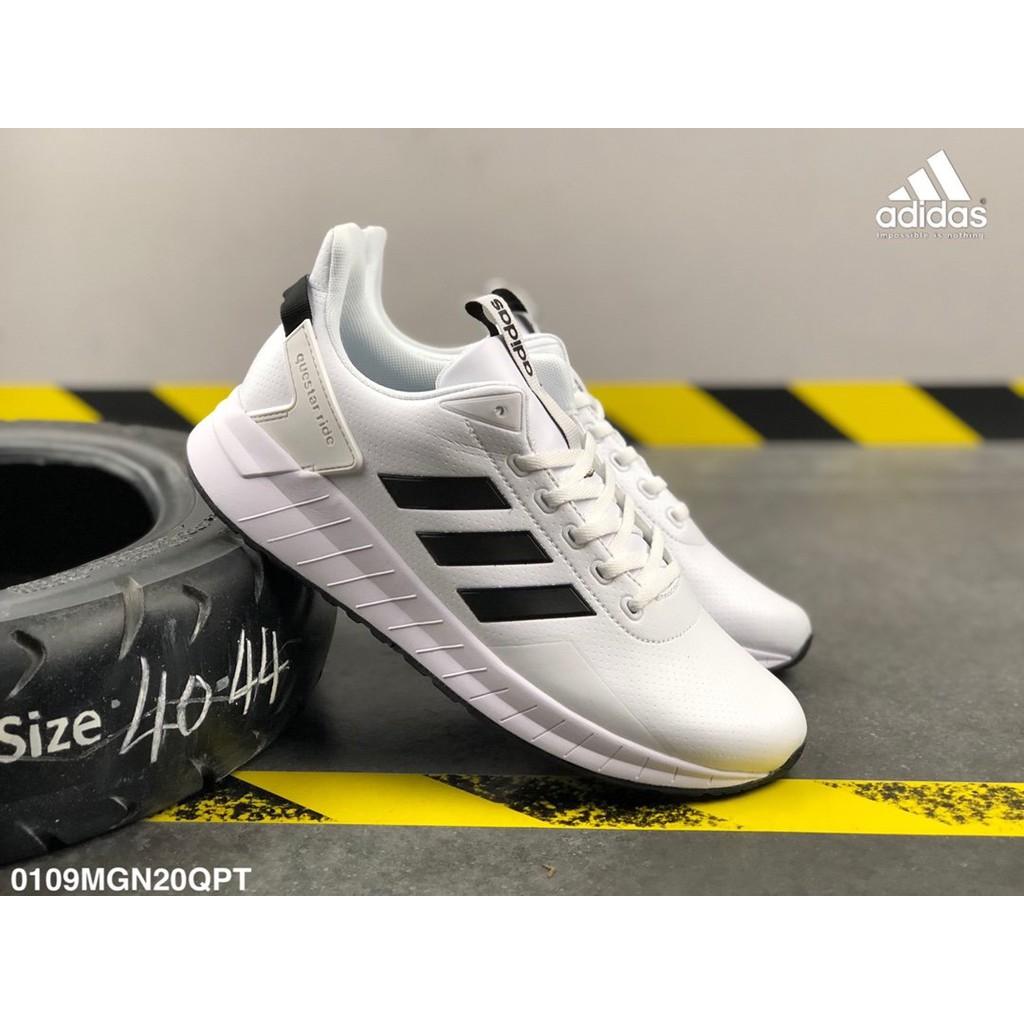 (Adidas) NEO QUESTAR RIDE รองเท้ากีฬารองเท้าผ้าใบเวอร์ชั่นเกาหลีรองเท้าลำลองสำหรับผู้ชายต้นฉบับ