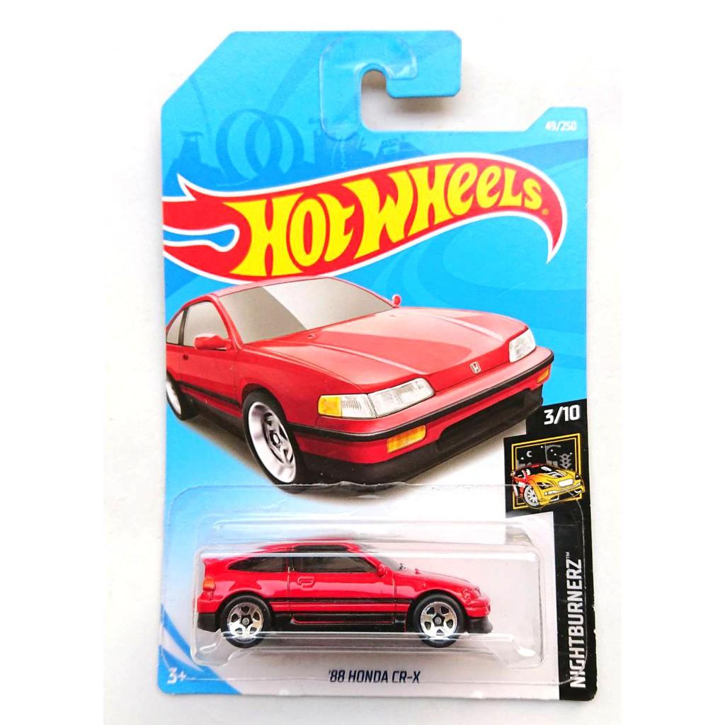 Hotwheels รุ่น '88 Honda CR-X
