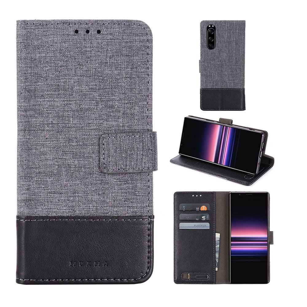 เคสหนังสําหรับ Sony Xperia 5/1 Xz 2 Compact Xz 3