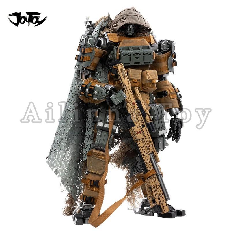 ✵℡☢โมเดลหุ่นยนต์  >[Pre Order]JOYTOY 1/18 Action Figure Mecha 09th Legion Fear IV Sniper Type Collection Model Toy For G