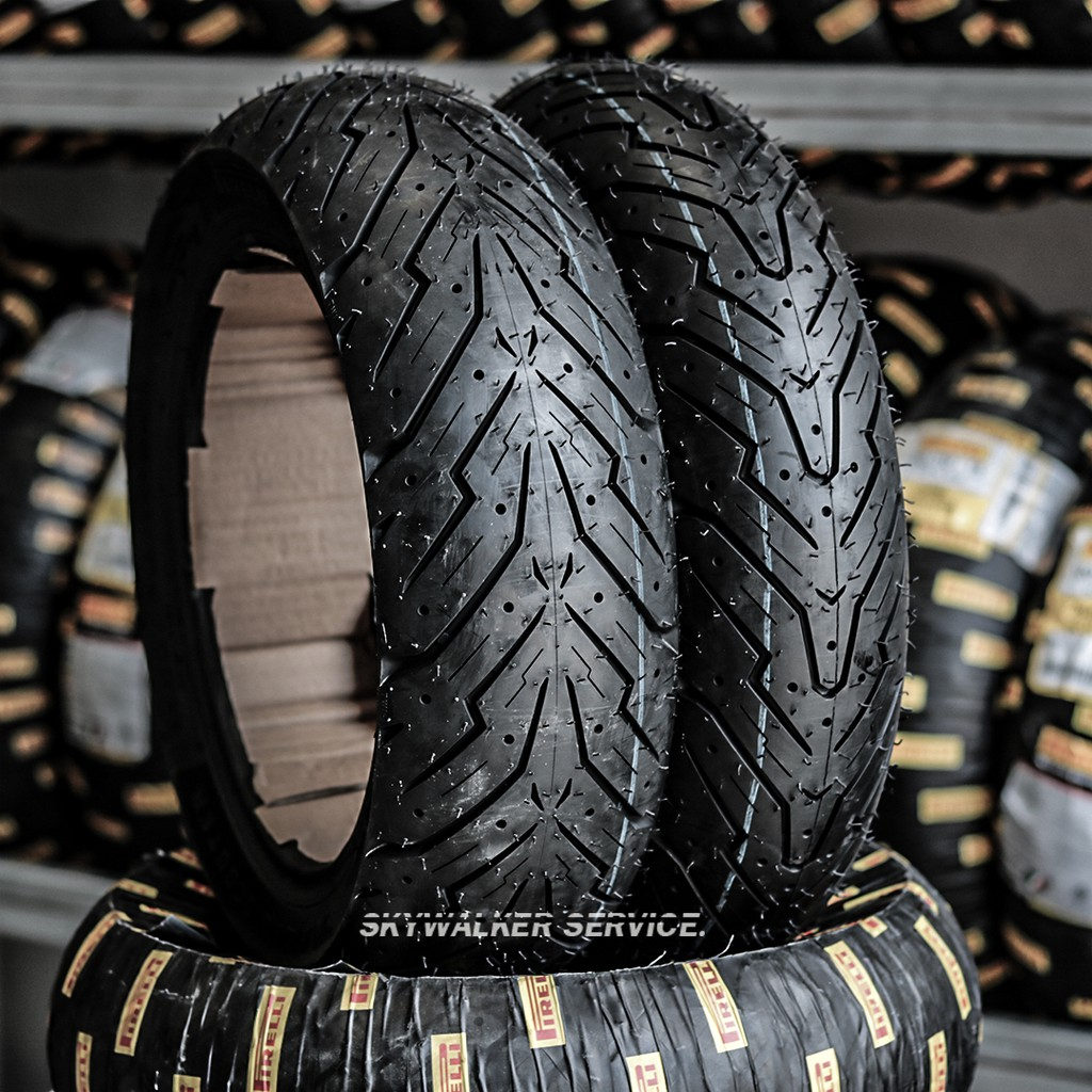 Pirelli Angel Scooter : 110/70-13, 130/70-13, 140/70-13, 90/80-14, 100/80-14, 120/70-14, 140/70-14, 150/70-14, 120/70-15