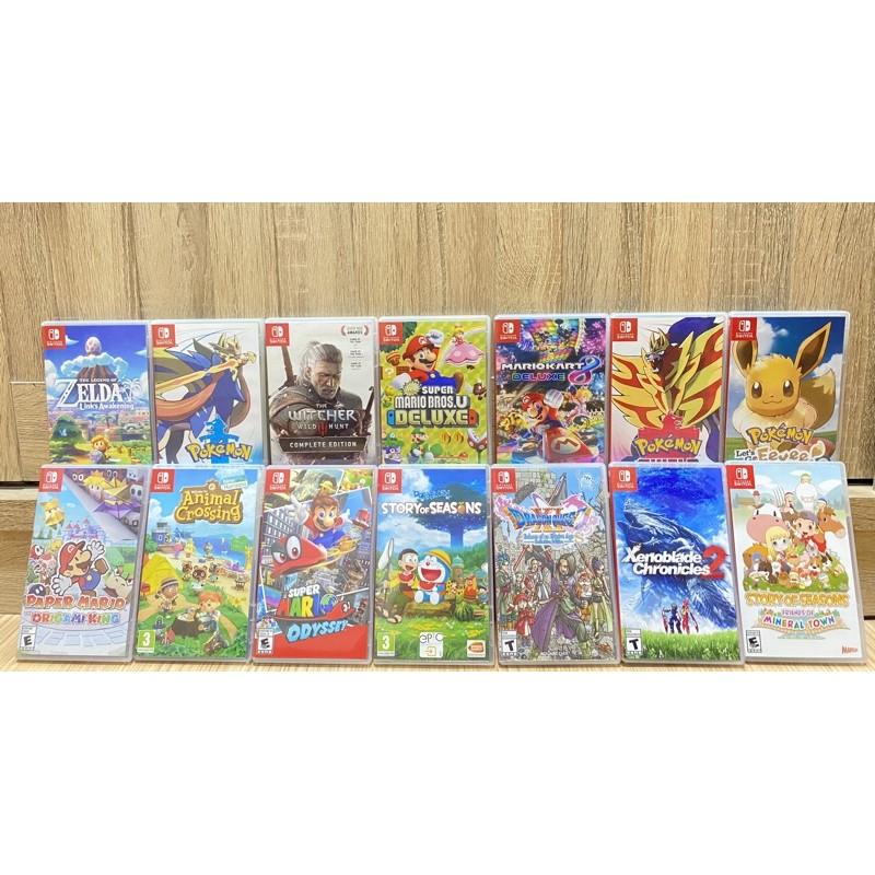 (มือ2) แผ่นเกม Nintendo Switch Nsw มือสอง