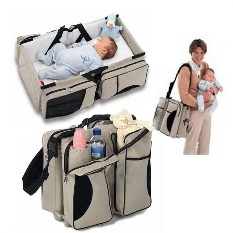 เตียงเด็ก Baby bed กระเป๋าเดินทางเดินทางกระเป๋าเดินทางกระเป๋าเดินทางแม่เปลเด็ก