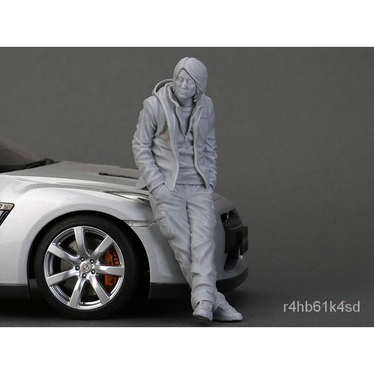 Resin Figure Kit 1/18 Mr. Han Garage Resin Figure Model Kit#¥%¥# MziT