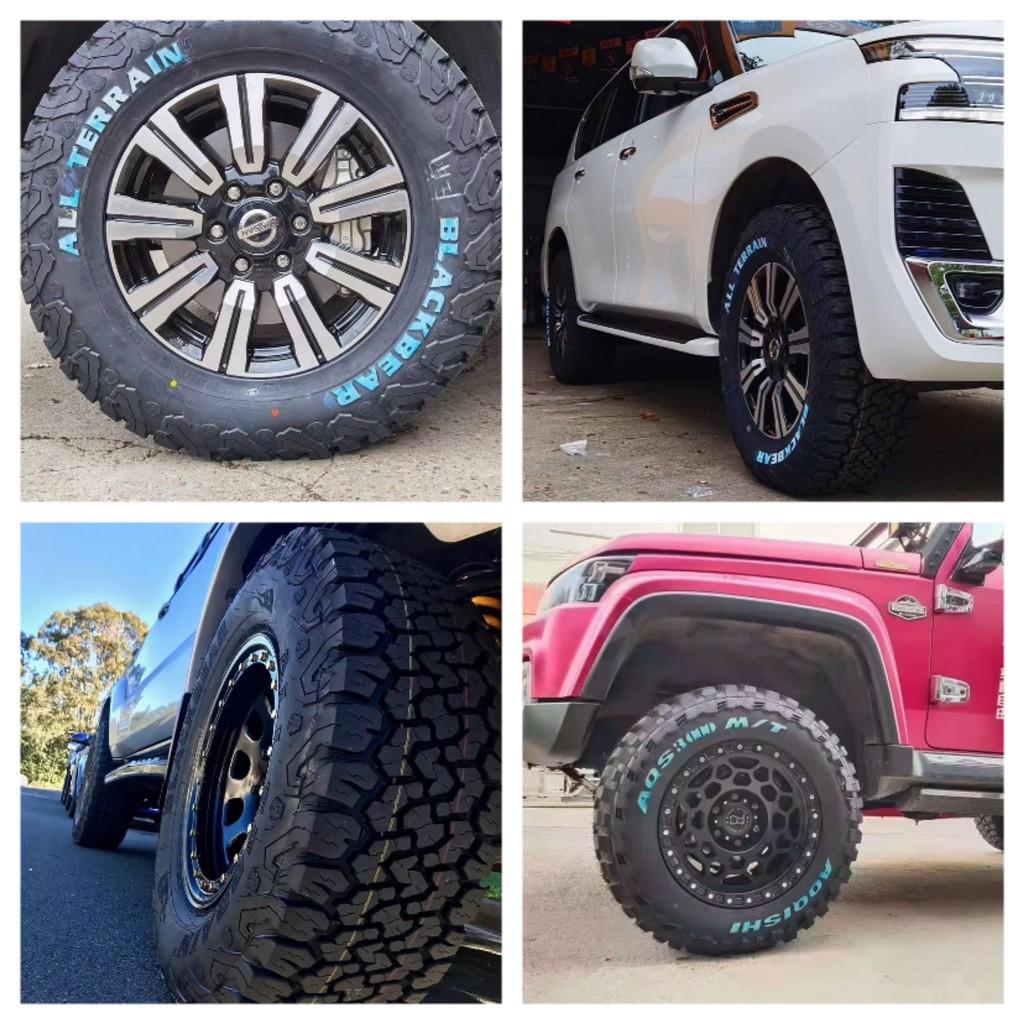 □℗∈Black Bear AT2 Off-Road Tyre 225/235/245/265/275/285/315/65/70 / 75R17R16R15