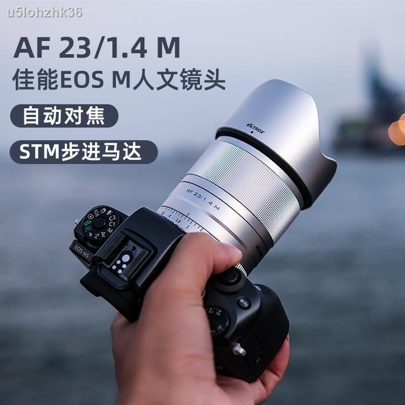 อุปกรณ์เสริมกล้อง❃✜☜Victor Canon 23mm/33mm/56mm F1.4 เลนส์อัตโนมัติ M Mount เลนส์กล้องไมโครเดี่ยว