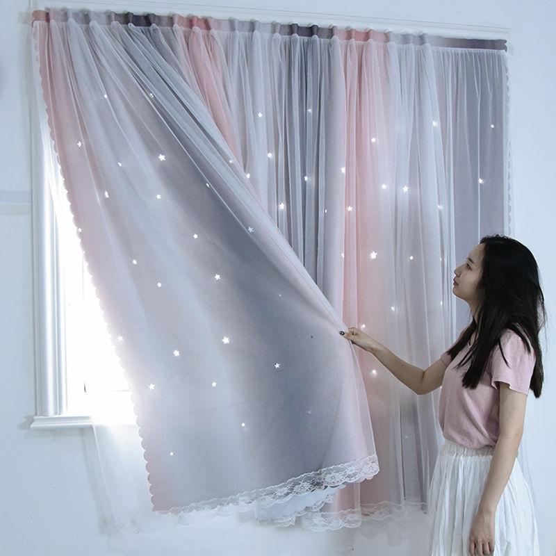 DUBE🔥ผ้าม่านหน้าต่าง ผ้าม่านประตู ผ้าม่าน UV สำเร็จรูป กั้นแอร์ได้ดี และทึบแสง กันแดดดี ติดแบบตีนตุ๊กแก จำนวน 1ผืน