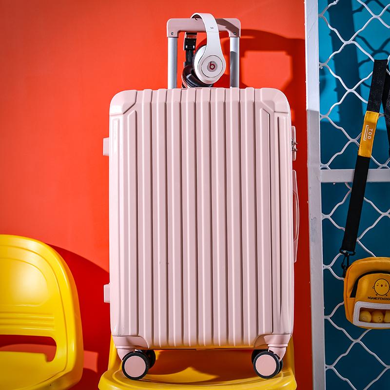 กระเป๋าเดินทางกระเป๋าเดินทางกระเป๋าเดินทางหญิง26-นิ้ว28กล่องรหัสผ่านนักเรียนนิ้ว24-ไฟขนาดเล็กนิ้ว20-นิ้ว