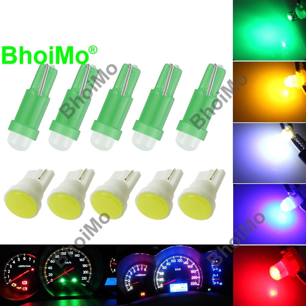 Bhoimo แผงหลอดไฟ Led T5 W3W T10 17 73 74 2721 194 168 501 สําหรับติดรถยนต์รถจักรยานยนต์ Dc12V
