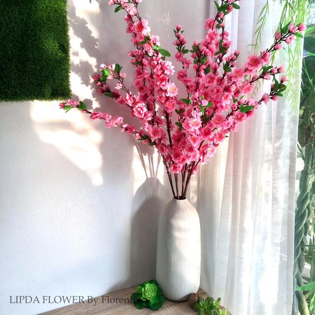 ต้นซากุระ ซากุระ ดอกไม้ปลอม ดอกไม้ประดิษฐ์ กิ่งไม้ ต้นไม้ปลอม ดอกซากุระปลอม Cherry Blossom ตกแต่งบ้าน ตกแต่งร้าน ญี่ปุ่น