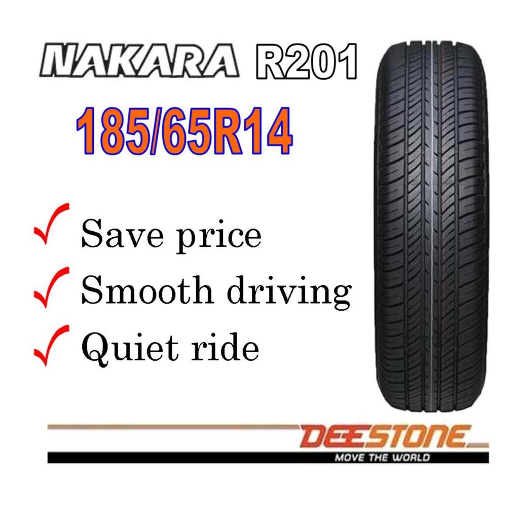 ยางรถยนต์ ยี่ห้อ Deestone รุ่น R201 ขนาด 185/65R14  86H  จำนวน 1 เส้น