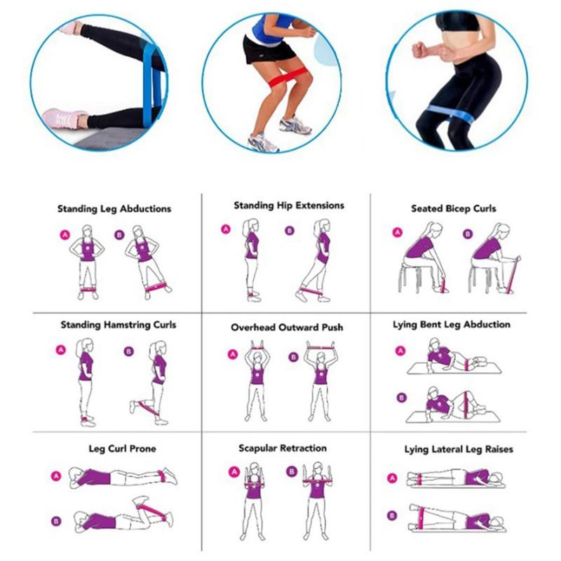 ยางยืดออกกำลังกาย ยางยืดวงแหวน บริหารร่างกาย แรงผ้ายืดออกกำลังกาย ยางยืดแรงต้าน  ยางยืดออกกำลังกายแรงต้านสูง