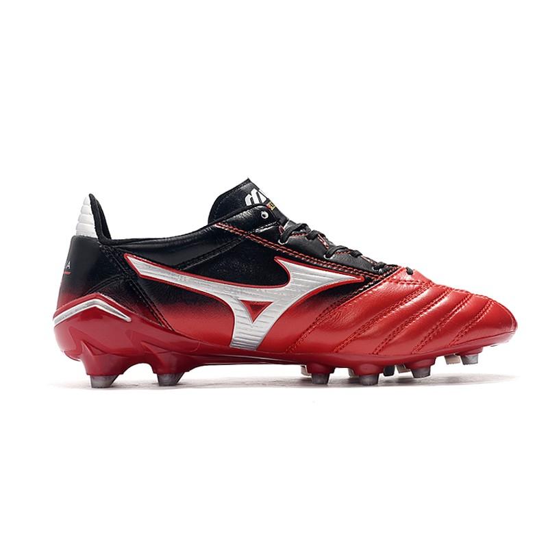 Mizun.o Morelia Neo II FG รองเท้าฟุตบอล Mizuno Moreira ซีรีส์ FG ด้านล่าง