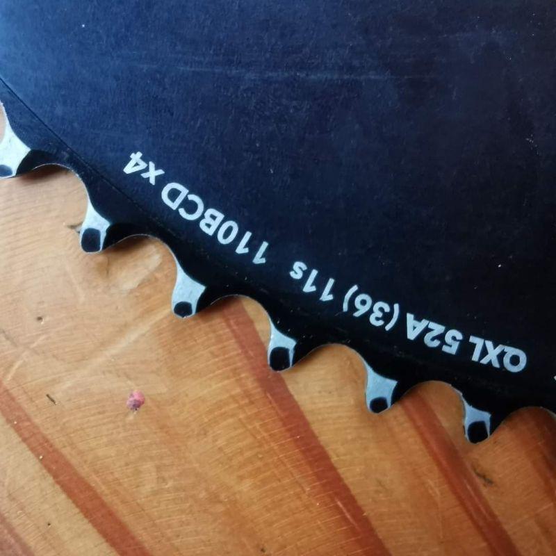 ใบset qxl 4รู 52/36 bcd110