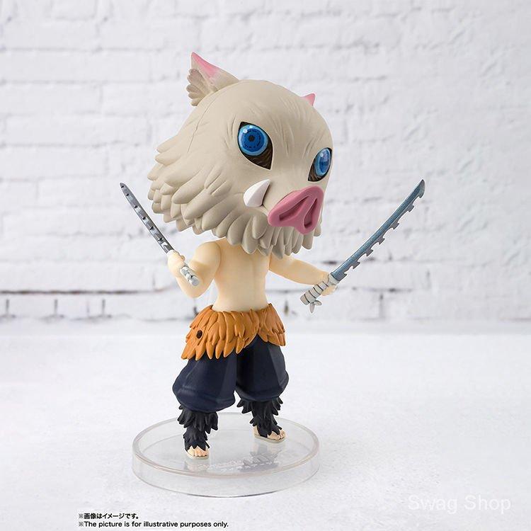 Demon Slayer Hashibira Inosuke Figuarts mini ผีมิเอะ Zhi ขอบ ปากปิงยี่จือช่วย Figure Model