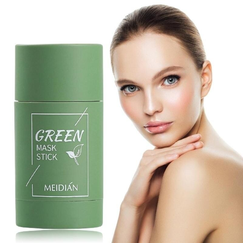Green Mask Stick Cleansing Mask Acne Cleaning Beauty Skin Green Tea  Moisturizing Hydrating Whitening Face Green Mask ski ราคาที่ดีที่สุด