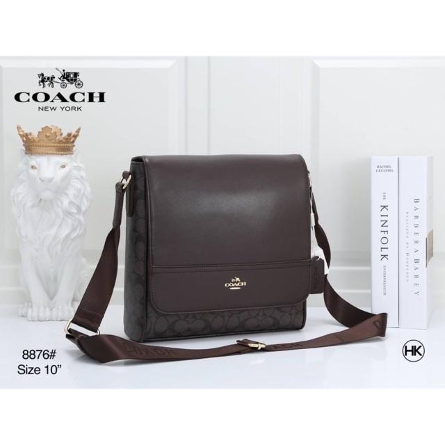 กระเป๋าสไตล์โค้ช Coach messenger bag style กระเป๋าสะพายข้าง Coach ฝาพับ สะพายcross body