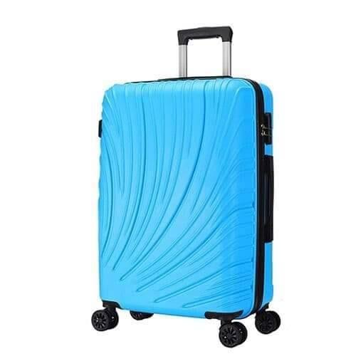 รหัส 01 กระเป๋าเดินทางขนาด 24 นิ้ว สีฟ้า ราคาถูก