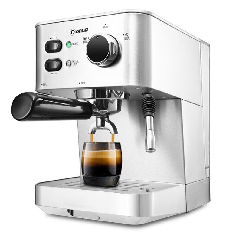 DFDonlimเครื่องชงกาแฟ บ้านกึ่งอัตโนมัติอิตาลีเครื่องทำนมเครื่องชงกาแฟ เครื่องชงกาแฟแคปซูลDL-DK4682