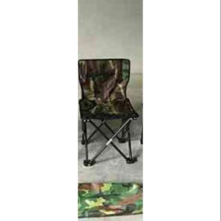 เก้าอี้พับกางไวลายทหาร(เก้าอี้สนาม)