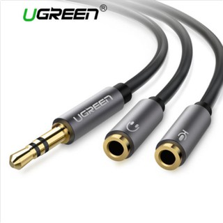 Review Ugreen 3.5mm Male to Dual 3.5mm Female Headphone Mic Audio Y Splitter Cable