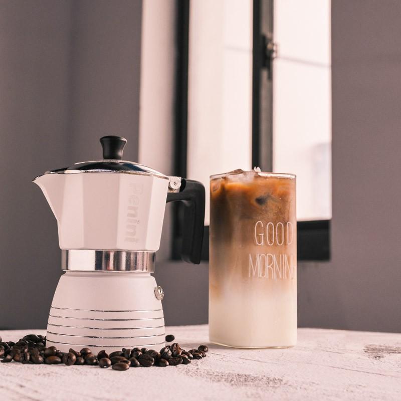 ❤♓หม้อกาแฟไฟฟ้าเครื่องชงกาแฟมือหม้อกาแฟpenini moka pot หม้อกาแฟสำหรับทำหม้อกาแฟมอคค่าในครัวเรือนหม้อต้มกาแฟมืออิตาเลี่ยน