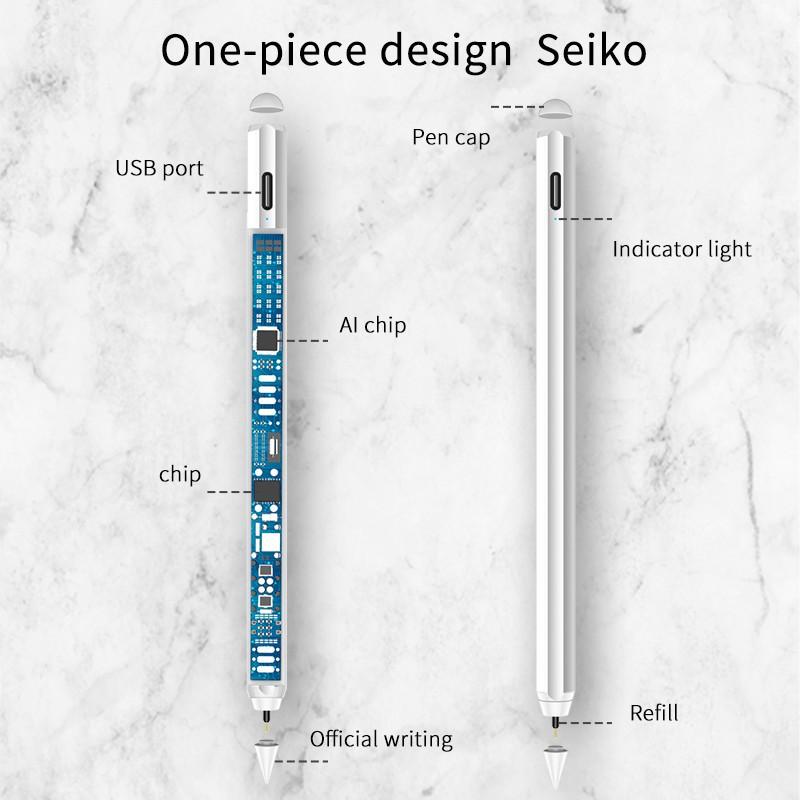 ►[วางมือบนจอได้] ปากกาไอแพด วางมือแบบ Apple Pencil stylus ปากกา ipad gen7 2019 applepencil 10.2 9.7 2018 Air 3 Pro 11