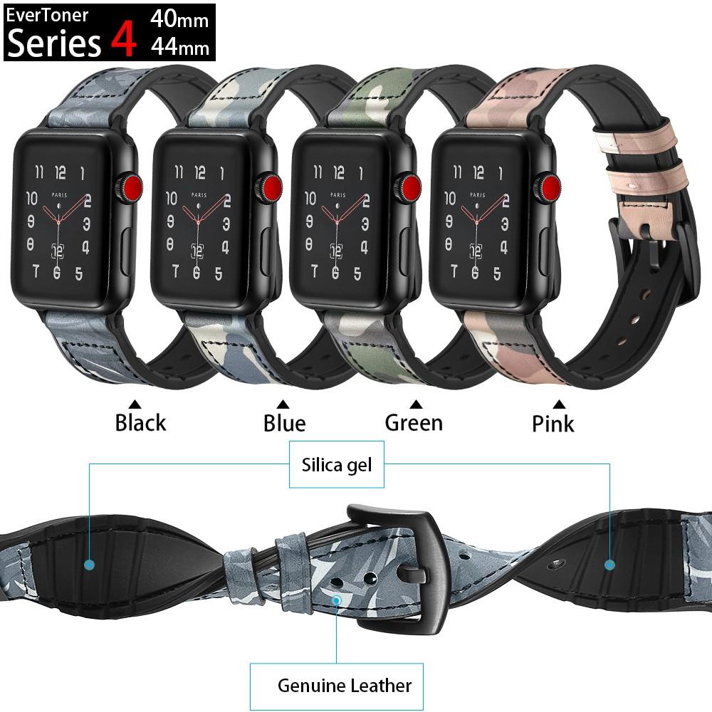 สายนาฬิกาข้อมือหนังสําหรับ Apple Watch Series 6 / Se / 5 / 4 / 3 / 2 Nike Space 40 / 44 มม . 38 / 42 มม .