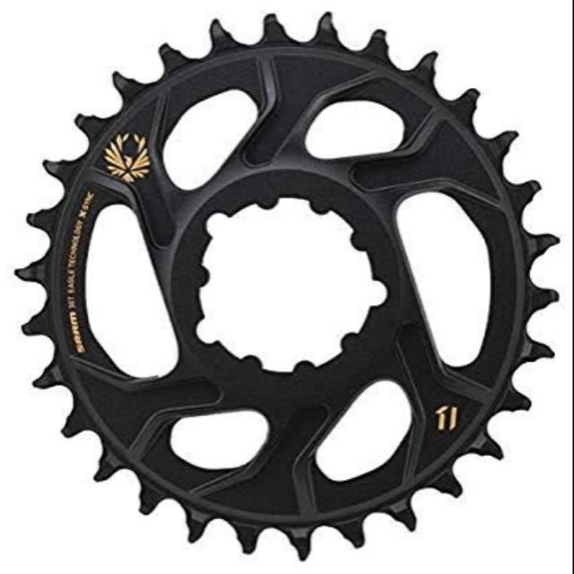 SRAM X-Sync 2 Eagle Chainring 38T Direct Mount 3mm Offset Boost Black
