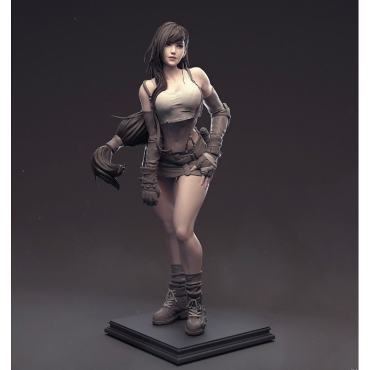 ℡▽☑Garage Kit 1/6 FFVII Final Fantasy VII Di Fa Tifa FF7 Resin Figure