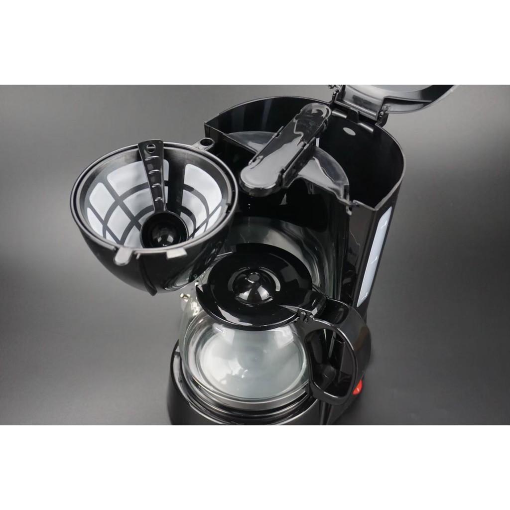 ◙☃สินค้าพร้อมส่ง เครื่องชงกาแฟสด เครื่องทำกาแฟสด ชงกาแฟได้ 6ถ้วย เครื่องชงกาแฟ auto mini