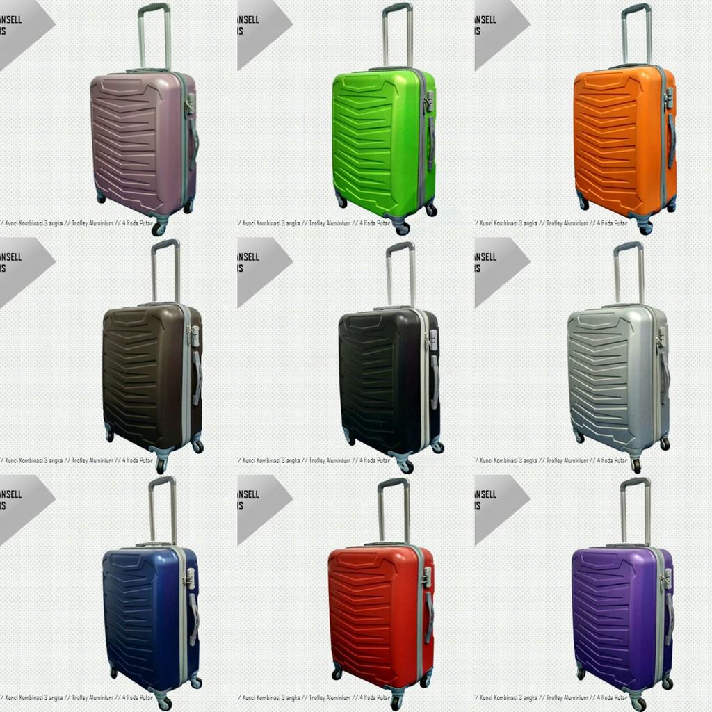 กระเป๋าเดินทางไฟเบอร์คุณภาพดี 2017 Abs 24 นิ้ว