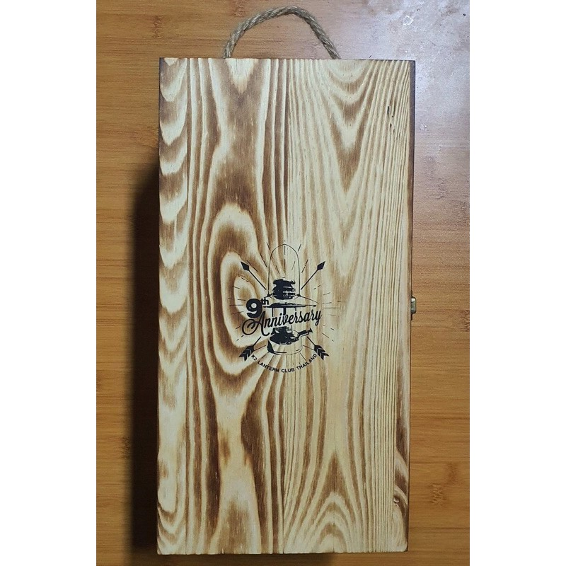 เคสตะเกียงไม้ K2 Wood Case & Coleman 200A