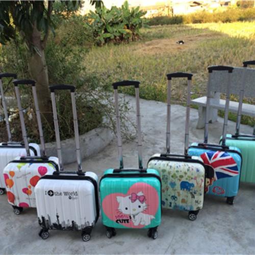 กระเป๋าเดินทางสีแคนดี้ 18 นิ้ว