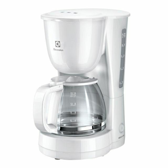 ShopE เครื่องชงกาแฟ  ELECTROLUX รุ่น ECM1303W เครื่องทำกาแฟ เครื่องต้มกาแฟ กาแฟสด